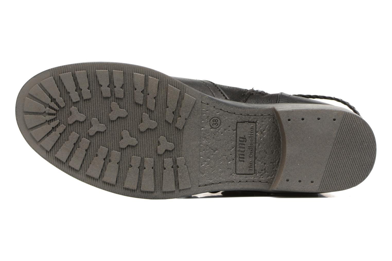 Bottines et boots MTNG Fausta Noir vue haut