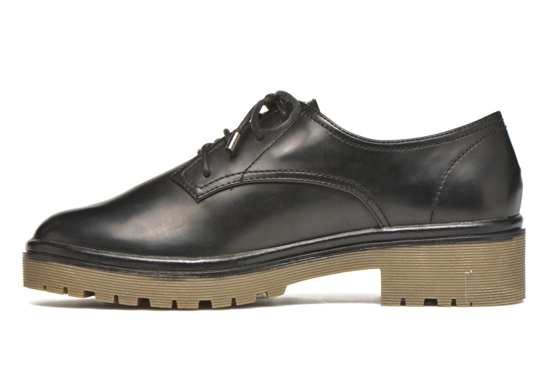 Chaussures à lacets MTNG Erik Noir vue face