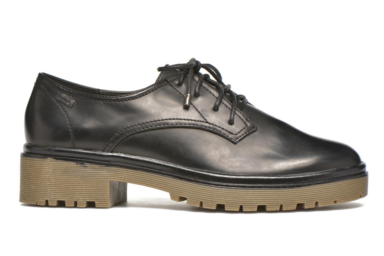 Zapatos con cordones MTNG Erik Negro vistra trasera