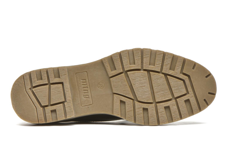 Chaussures à lacets MTNG Erik Noir vue haut