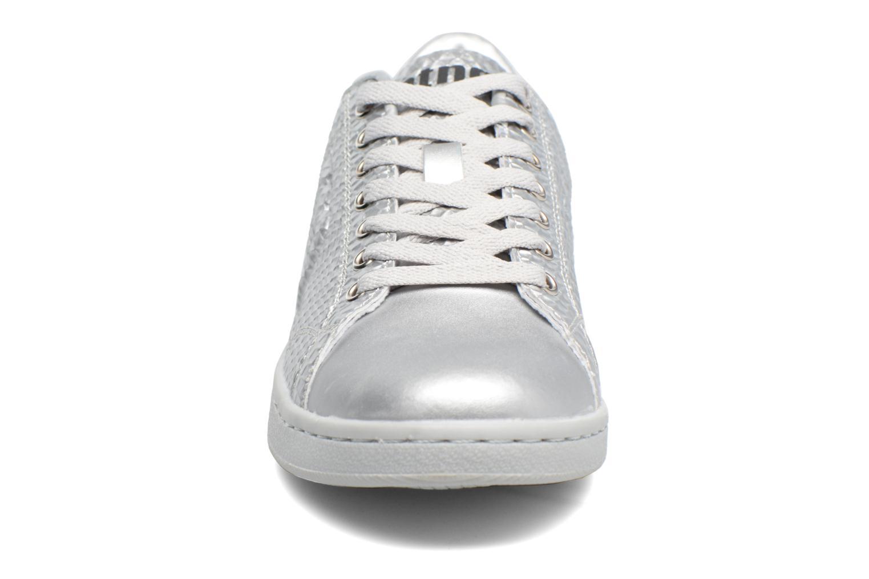 Baskets MTNG Agasi Argent vue portées chaussures