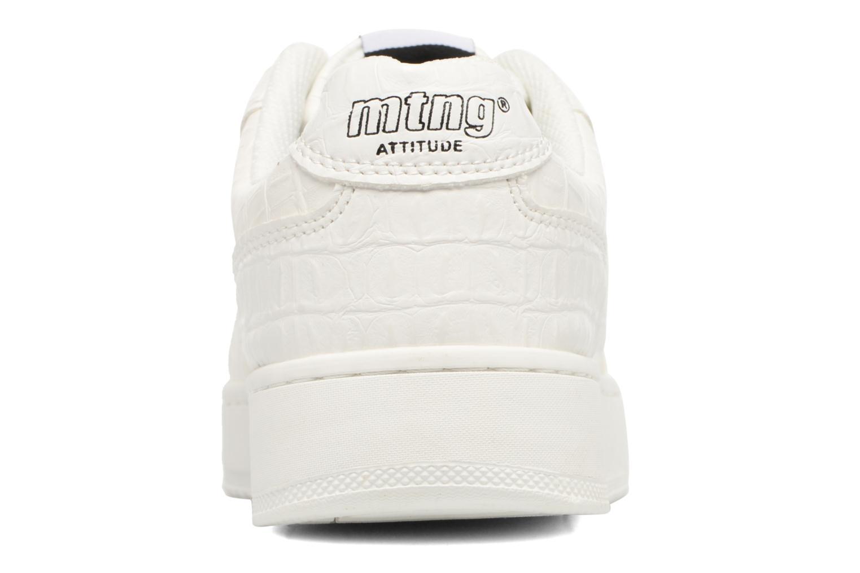 Baskets MTNG Cima Blanc vue droite