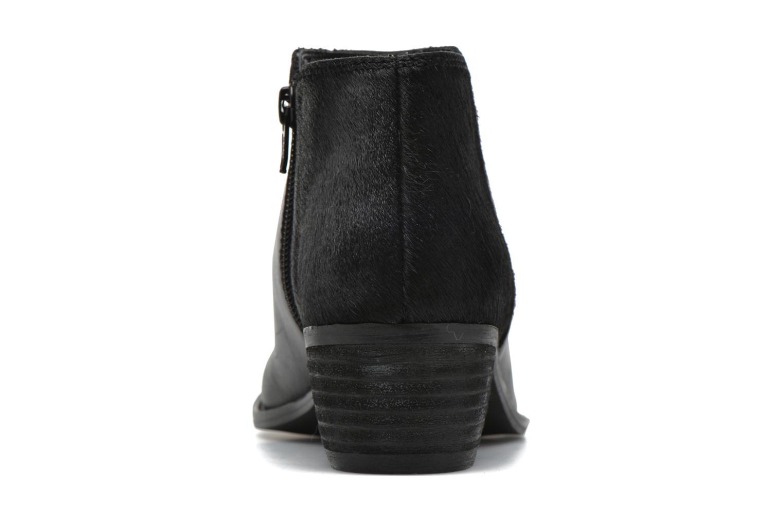 Bottines et boots Dune London Penelope Noir vue droite