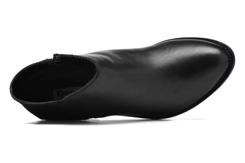 Bottines et boots Dune London Penelope Noir vue gauche