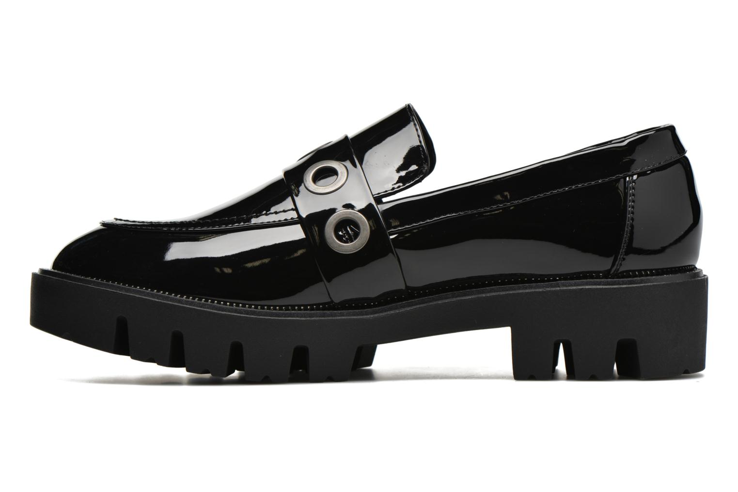 Loafers Sixty Seven Emma Black front view
