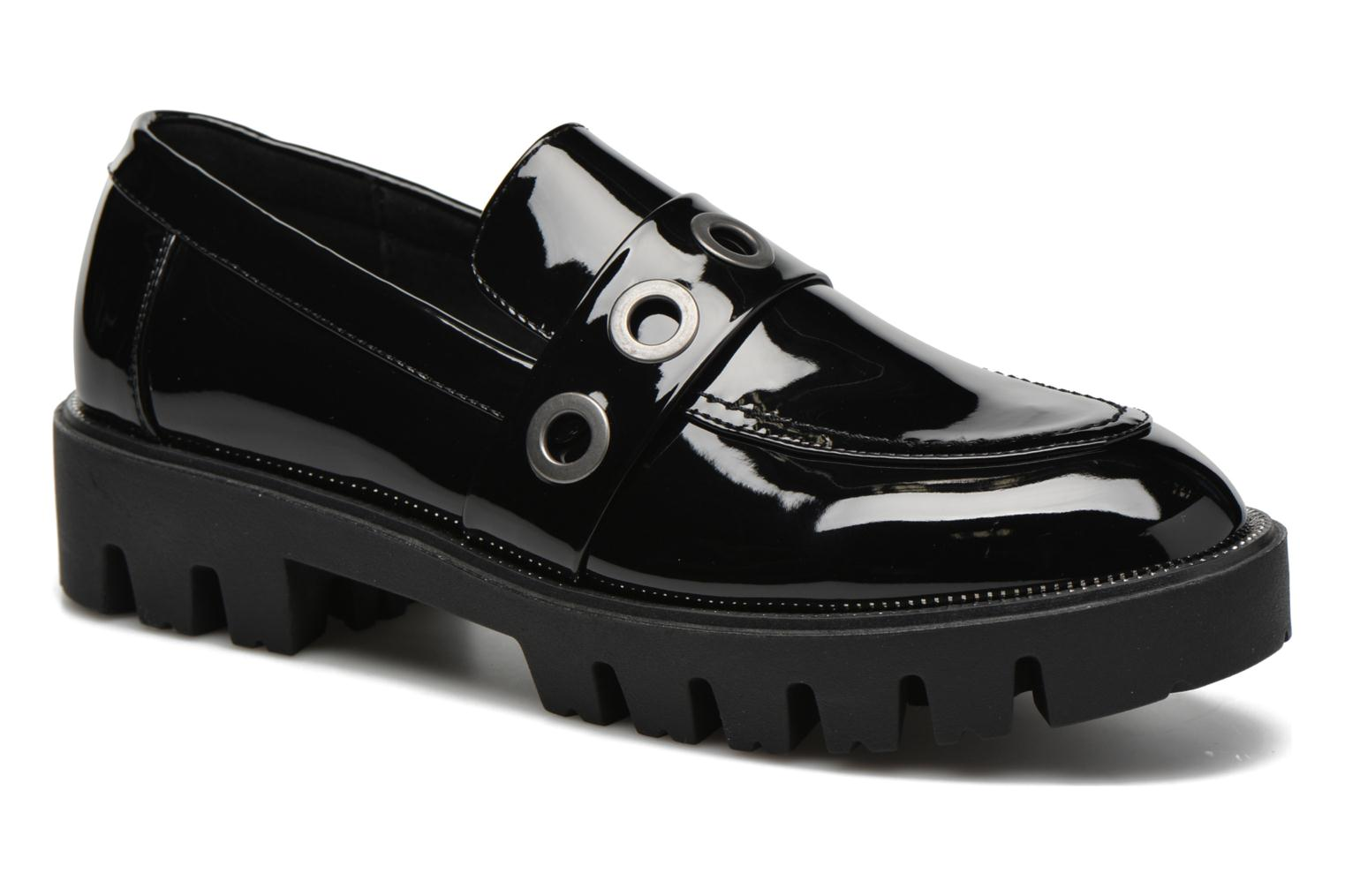 Loafers Sixty Seven Emma Black detailed view/ Pair view