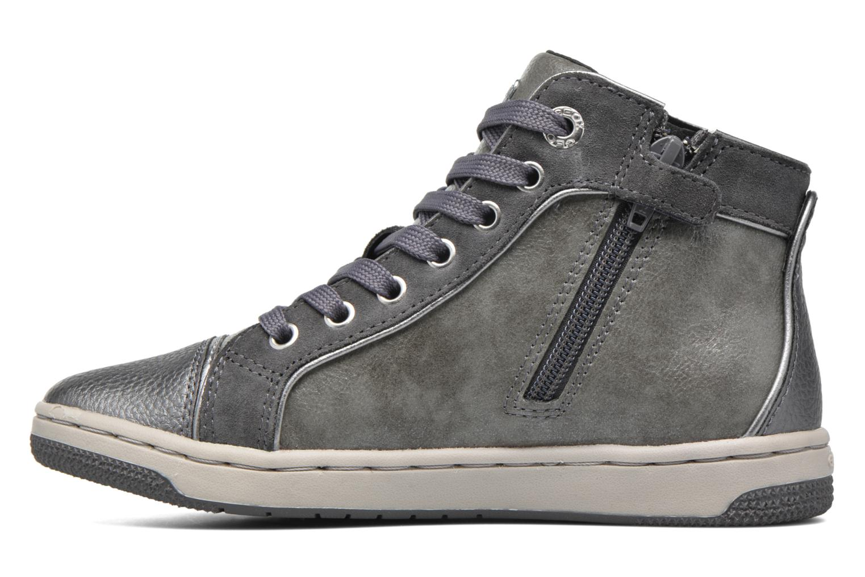 Sneaker Geox J Creamy E J62L5E grau ansicht von vorne