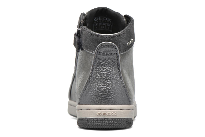 Sneaker Geox J Creamy E J62L5E grau ansicht von rechts