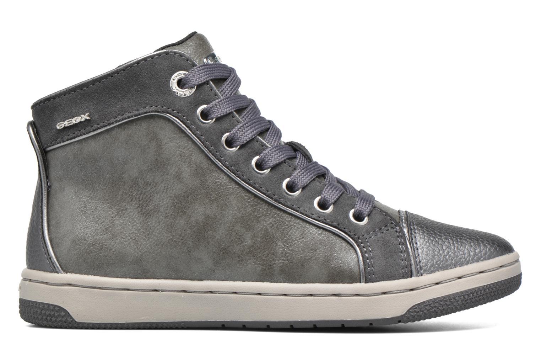 Sneaker Geox J Creamy E J62L5E grau ansicht von hinten
