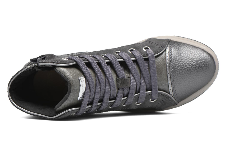Sneaker Geox J Creamy E J62L5E grau ansicht von links