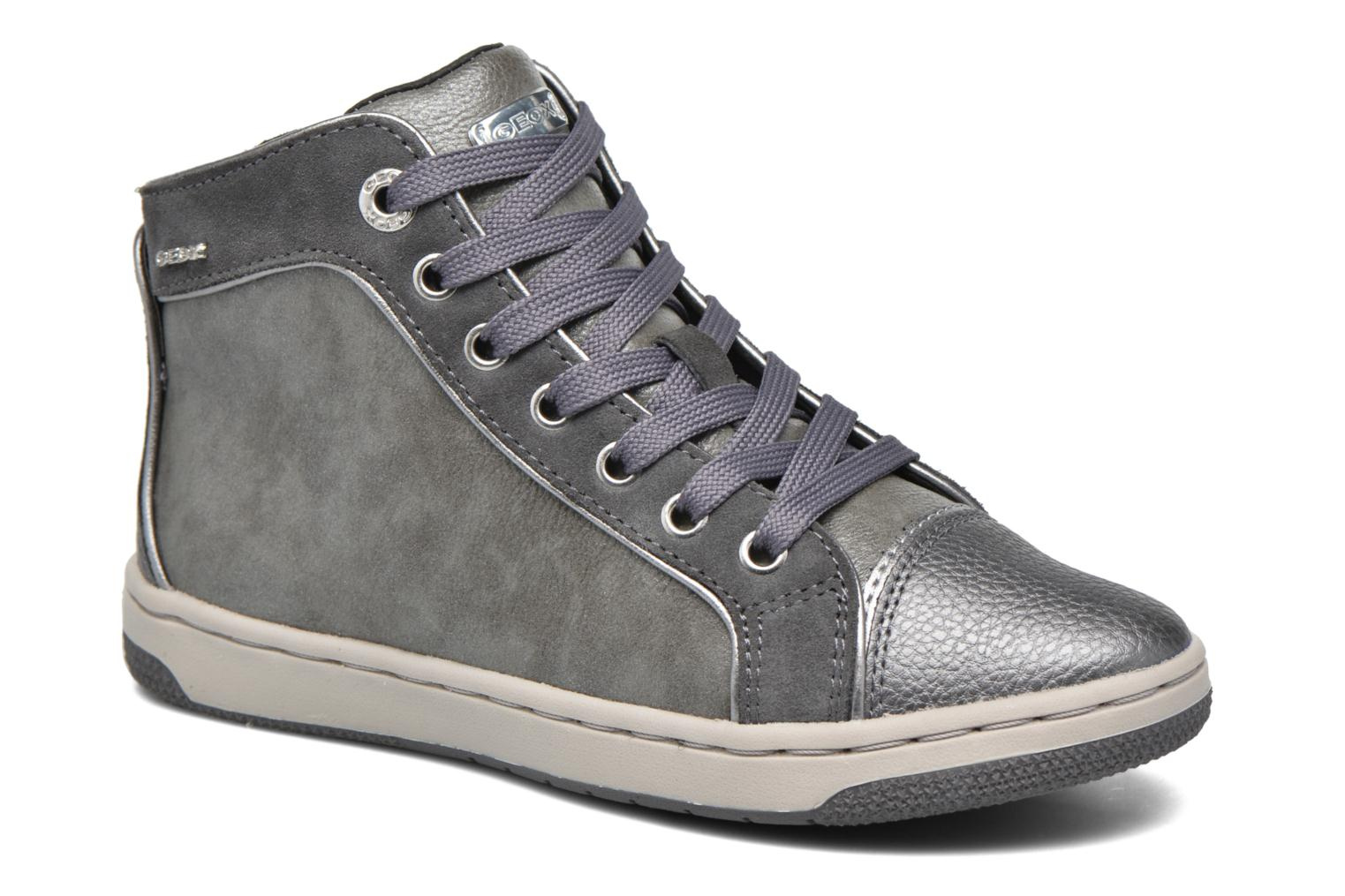 Trainers Geox J Creamy E J62L5E Grey detailed view/ Pair view
