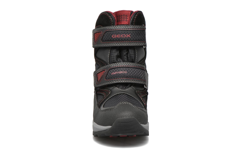 Bottes Geox J Orizont B Abx C J640BC Noir vue portées chaussures