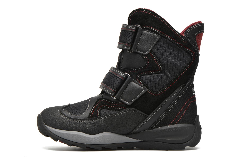 Boots & wellies Geox J Orizont B Abx C J640BC Black front view