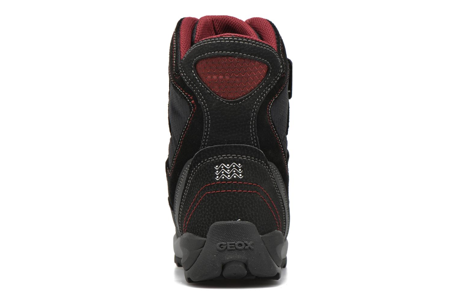 Boots & wellies Geox J Orizont B Abx C J640BC Black view from the right