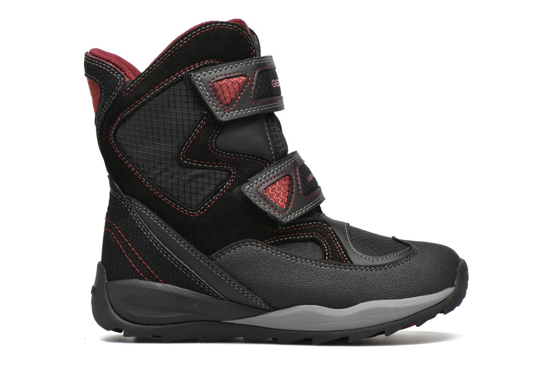 Boots & wellies Geox J Orizont B Abx C J640BC Black back view