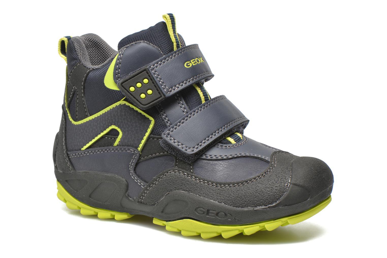 Bottines et boots Geox J N.Savage B.C J641VC Bleu vue détail/paire