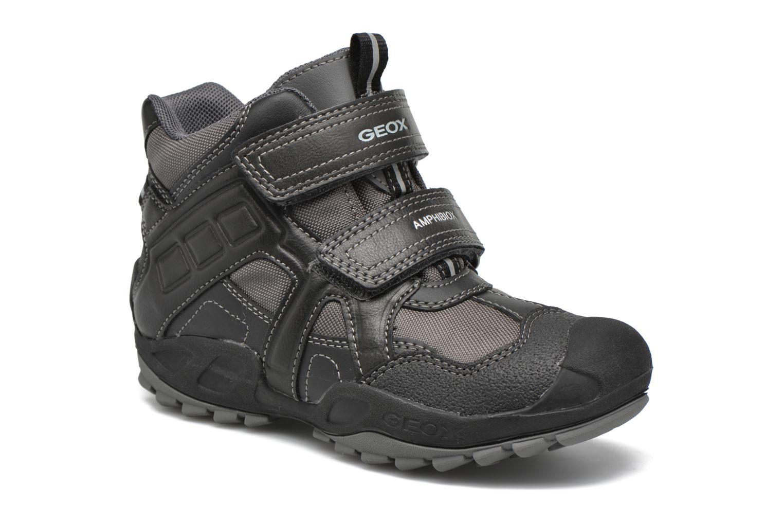 Bottines et boots Geox J N.Savage B.B J641WA Gris vue détail/paire