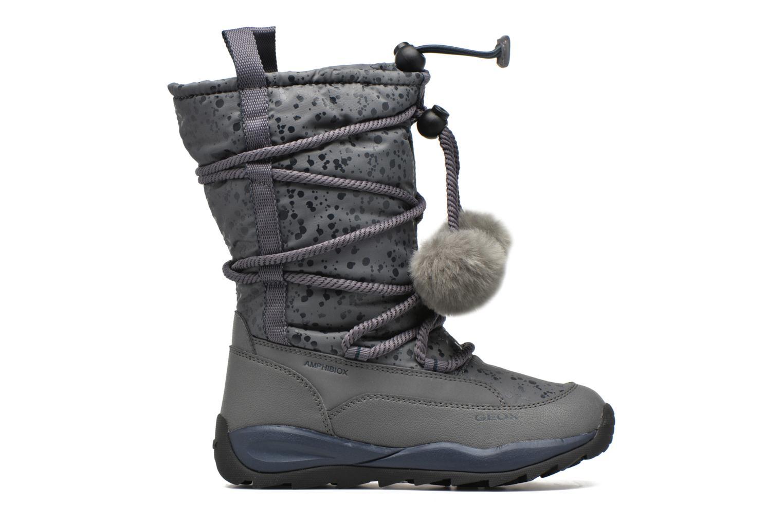 Boots & wellies Geox J Orizont G. Abx A J642BA Grey back view