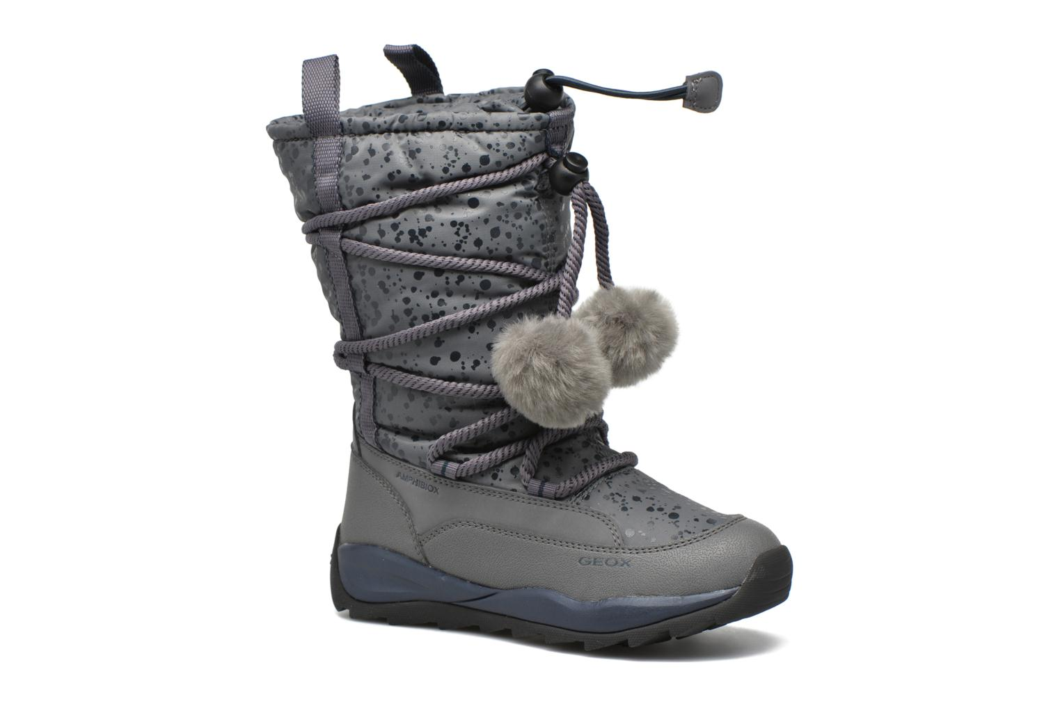 Boots & wellies Geox J Orizont G. Abx A J642BA Grey detailed view/ Pair view