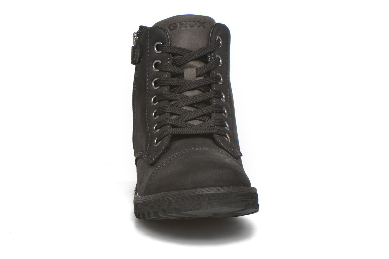 Bottines et boots Geox J Axel B. Wpf A J643Da Noir vue portées chaussures