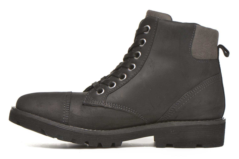 Bottines et boots Geox J Axel B. Wpf A J643Da Noir vue face