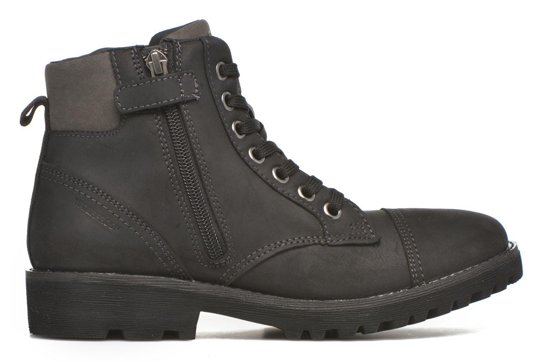 Bottines et boots Geox J Axel B. Wpf A J643Da Noir vue derrière