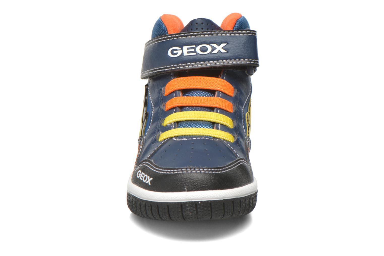Baskets Geox J Gregg A J6447A Bleu vue portées chaussures
