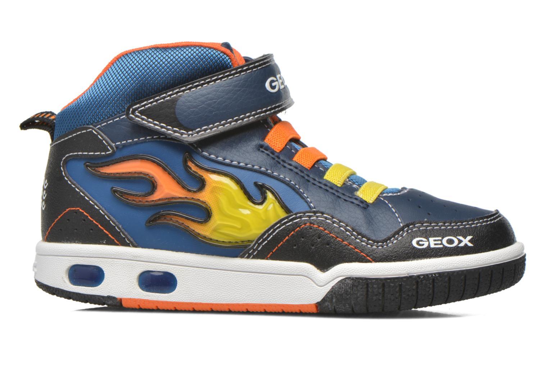 Baskets Geox J Gregg A J6447A Bleu vue derrière