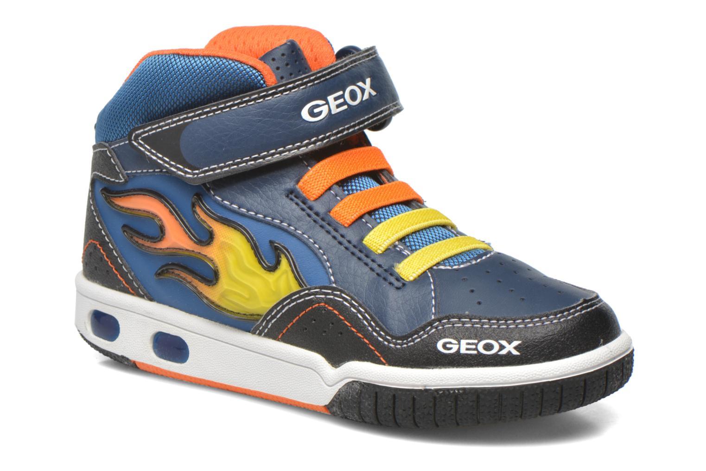 Baskets Geox J Gregg A J6447A Bleu vue détail/paire