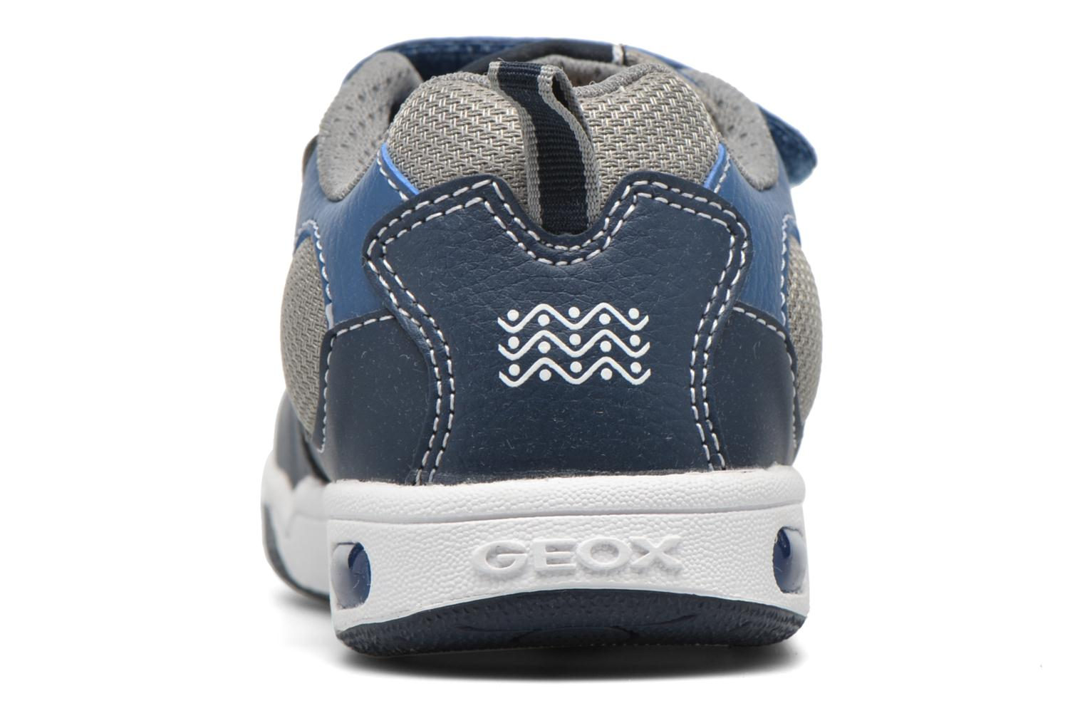 Trainers Geox J Gregg B J6447B Blue view from the right