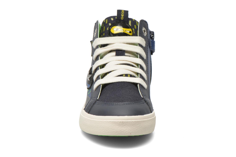 Sneaker Geox J Kiwi B. I J64A7I blau schuhe getragen