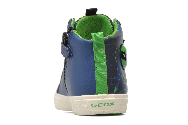 Sneaker Geox J Kiwi B. I J64A7I blau ansicht von rechts