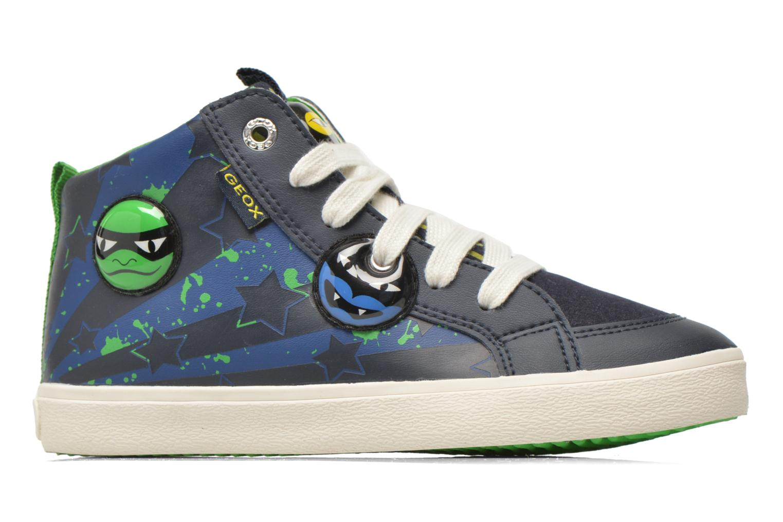 Sneaker Geox J Kiwi B. I J64A7I blau ansicht von hinten