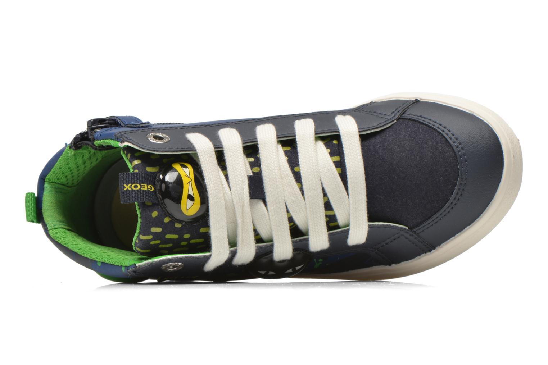 Sneaker Geox J Kiwi B. I J64A7I blau ansicht von links