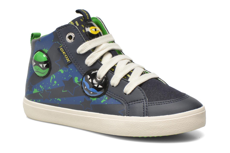 Sneaker Geox J Kiwi B. I J64A7I blau detaillierte ansicht/modell