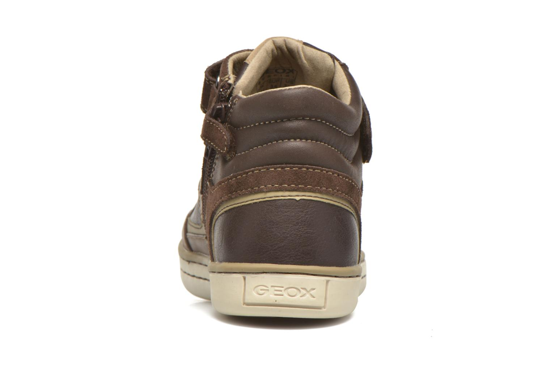 Sneaker Geox J Garcia B. A J64B6A braun ansicht von rechts