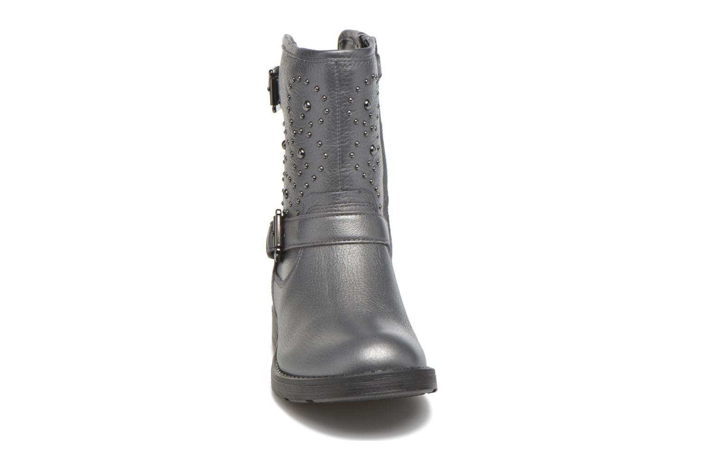 Stiefel Geox J Sofia D J64D3D grau schuhe getragen