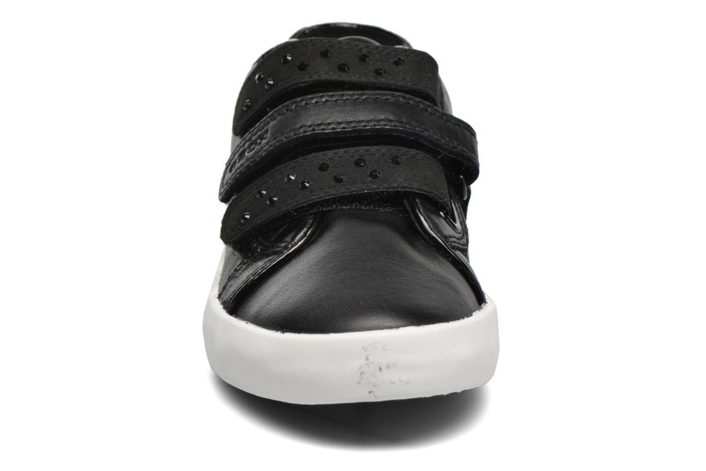 Sneaker Geox J Kiwi G. D J64D5D schwarz schuhe getragen