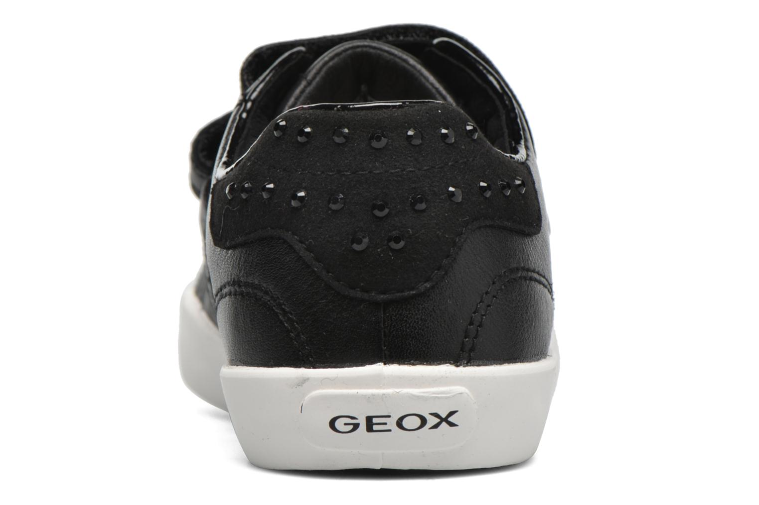 Trainers Geox J Kiwi G. D J64D5D Black view from the right