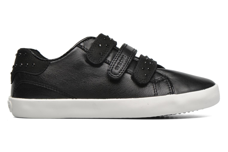 Sneaker Geox J Kiwi G. D J64D5D schwarz ansicht von hinten