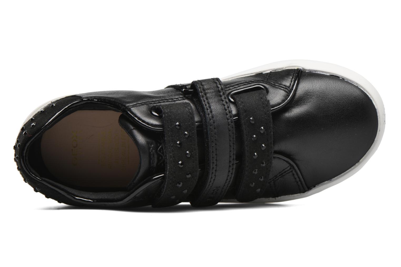Sneaker Geox J Kiwi G. D J64D5D schwarz ansicht von links