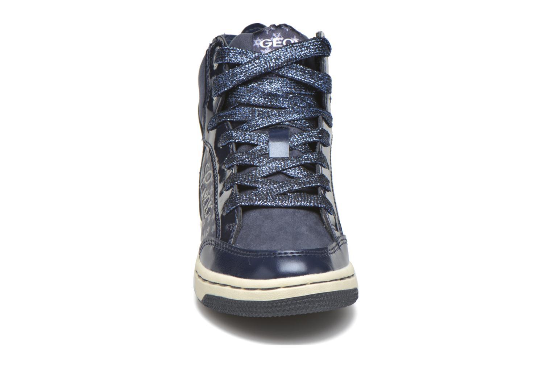 Sneaker Geox J Creamy C J64L5C blau schuhe getragen