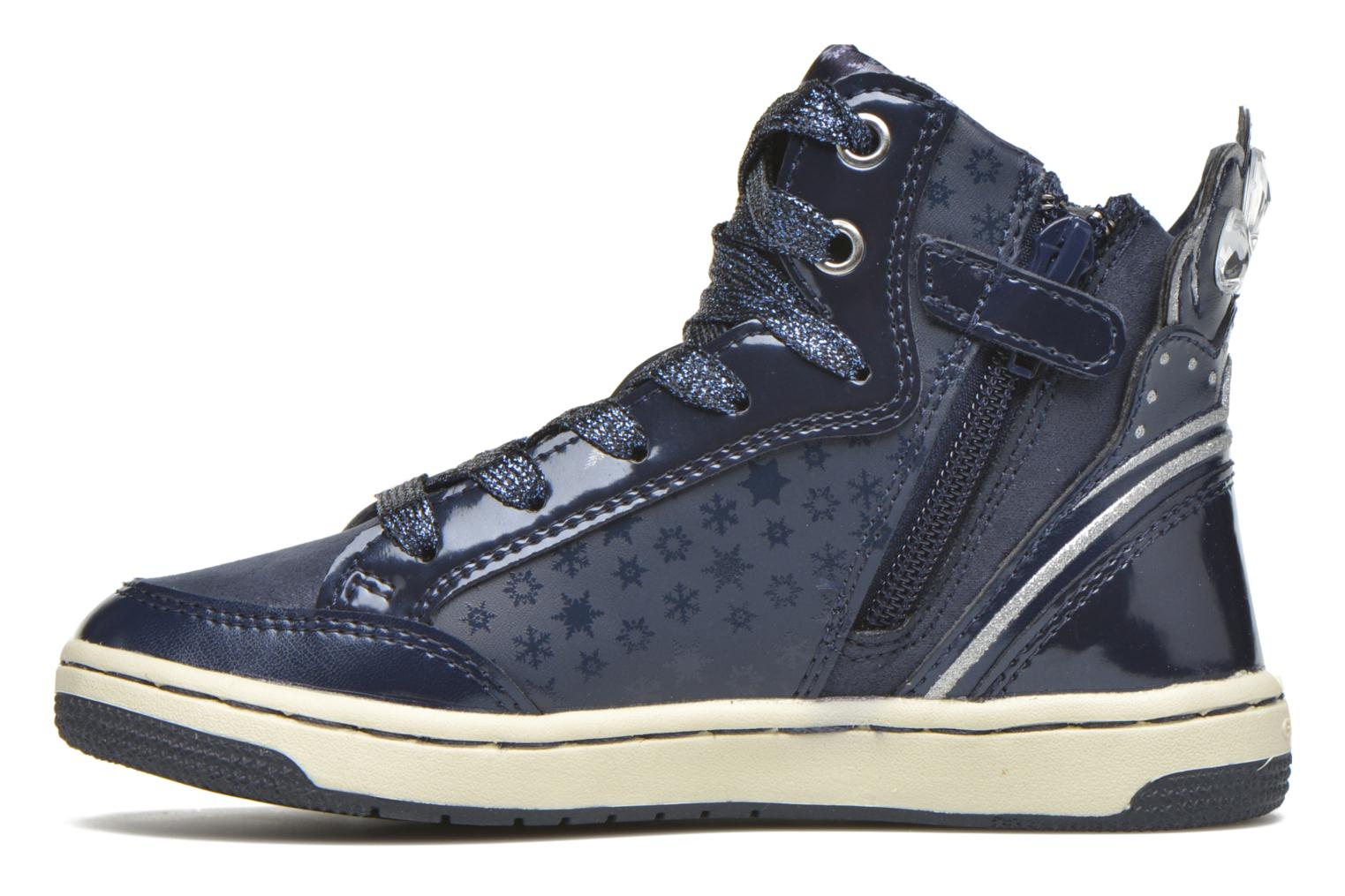 Trainers Geox J Creamy C J64L5C Blue front view