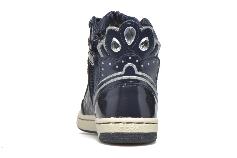 Sneaker Geox J Creamy C J64L5C blau ansicht von rechts