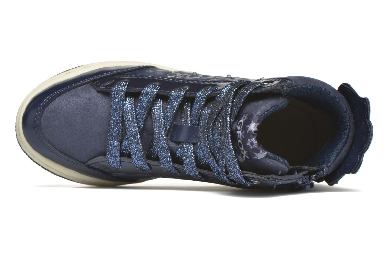 Sneaker Geox J Creamy C J64L5C blau ansicht von links