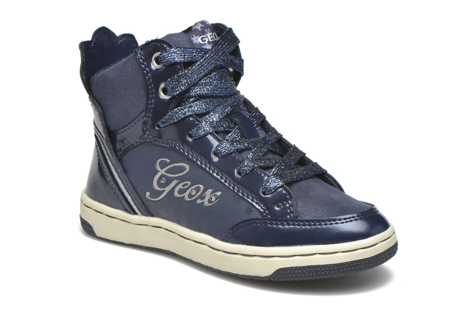 Trainers Geox J Creamy C J64L5C Blue detailed view/ Pair view