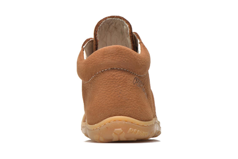 Bottines et boots PEPINO Cory Marron vue droite
