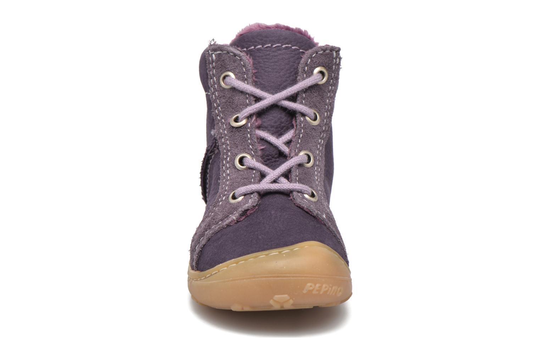 Chaussures à lacets PEPINO George Violet vue portées chaussures
