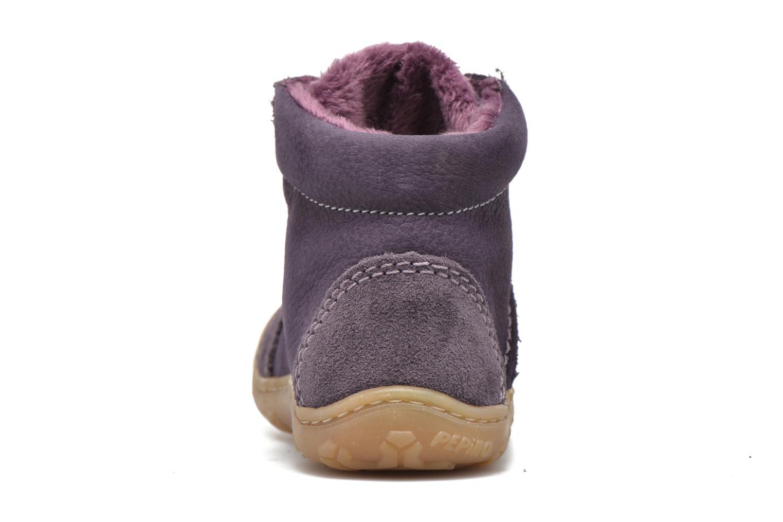 Chaussures à lacets PEPINO George Violet vue droite