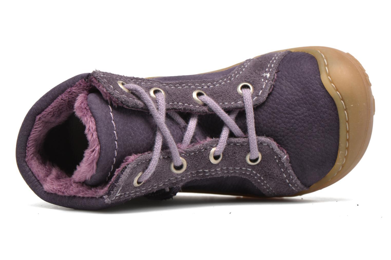 Chaussures à lacets PEPINO George Violet vue gauche